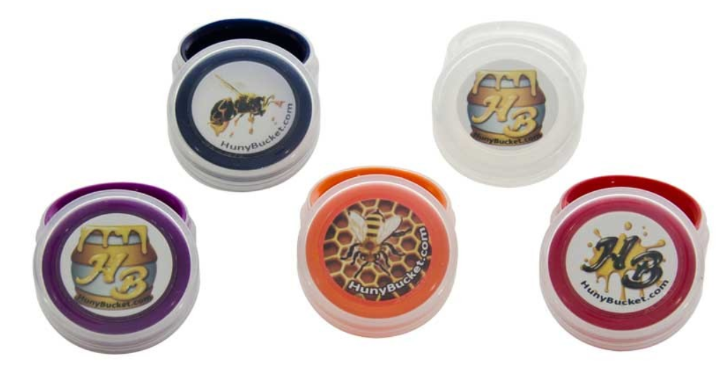 silicone concentrate container