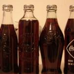 soft glass soda bottle