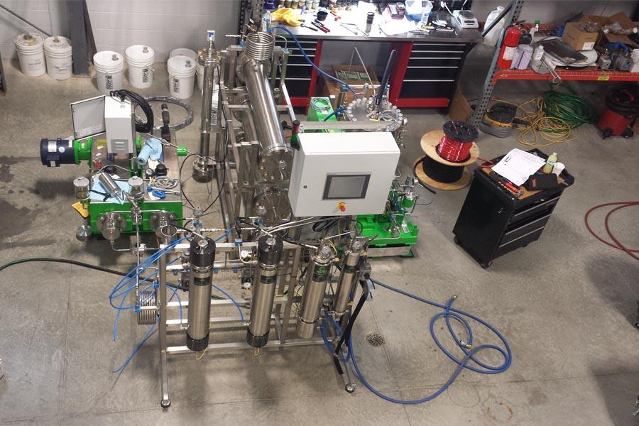 Solvent based cannabis extraction system