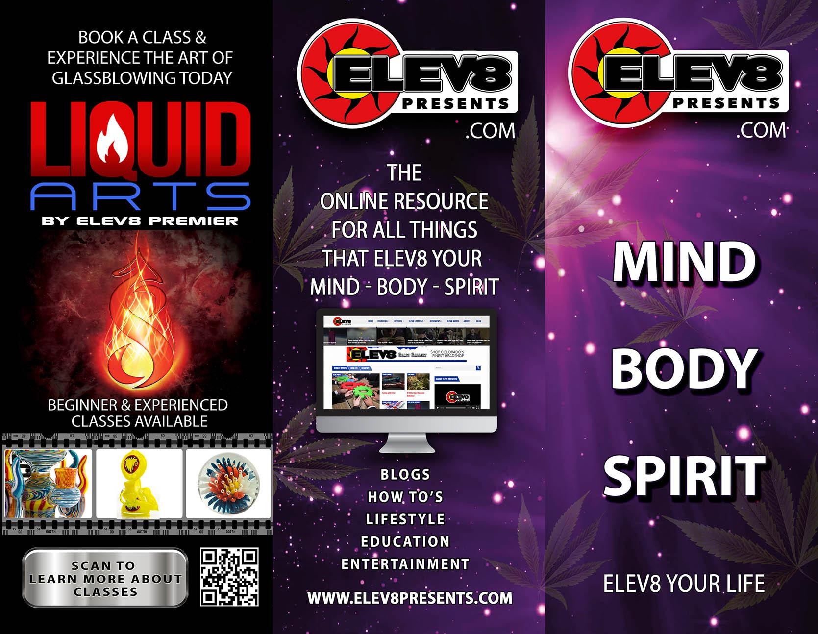 Elev8 Presents Tri-Fold Outside